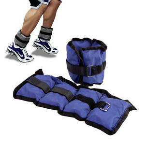 2-x-1kg-WRIST-ANKLE-EXERCISE-WEIGHT-GYM-FITNESS-RESISTANCE-RUNNING-TRAINING