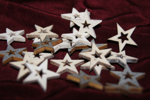 Deko Weihnachten Holz Tanne Sterne Engel Schneeflocke Weihnachtsdeko weiß grau