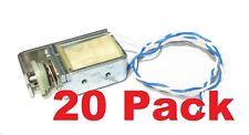20 X Jp 12v Dc Adjustable Stroke Pull Solenoid Valve 25 Ohm 4lb Hold 460ma