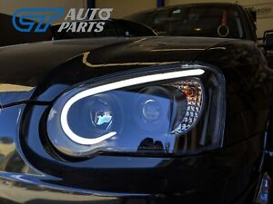 Black-3D-LED-Angle-Eyes-Projector-Headlights-for-03-05-SUBARU-IMPREZA-WRX-RX-STI