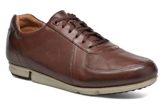 Clarks  Herren Triturn Run Braun Leder Lace Up Schuhes UK Größe 7,8,12 G