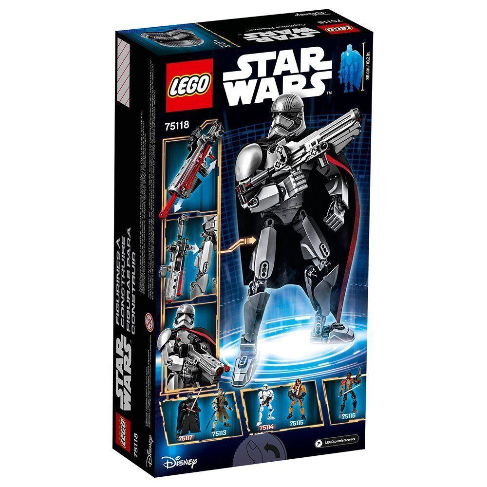 Lego Star Wars 75118 Captain Phasma Minifigs Jedi dark Force Awakens figure NISB