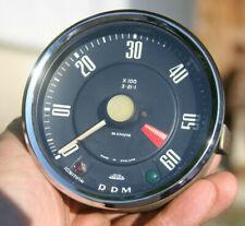 Sunbeam Alpine Vintage Jaeger Mechanical Tachometer Rn 231002 D