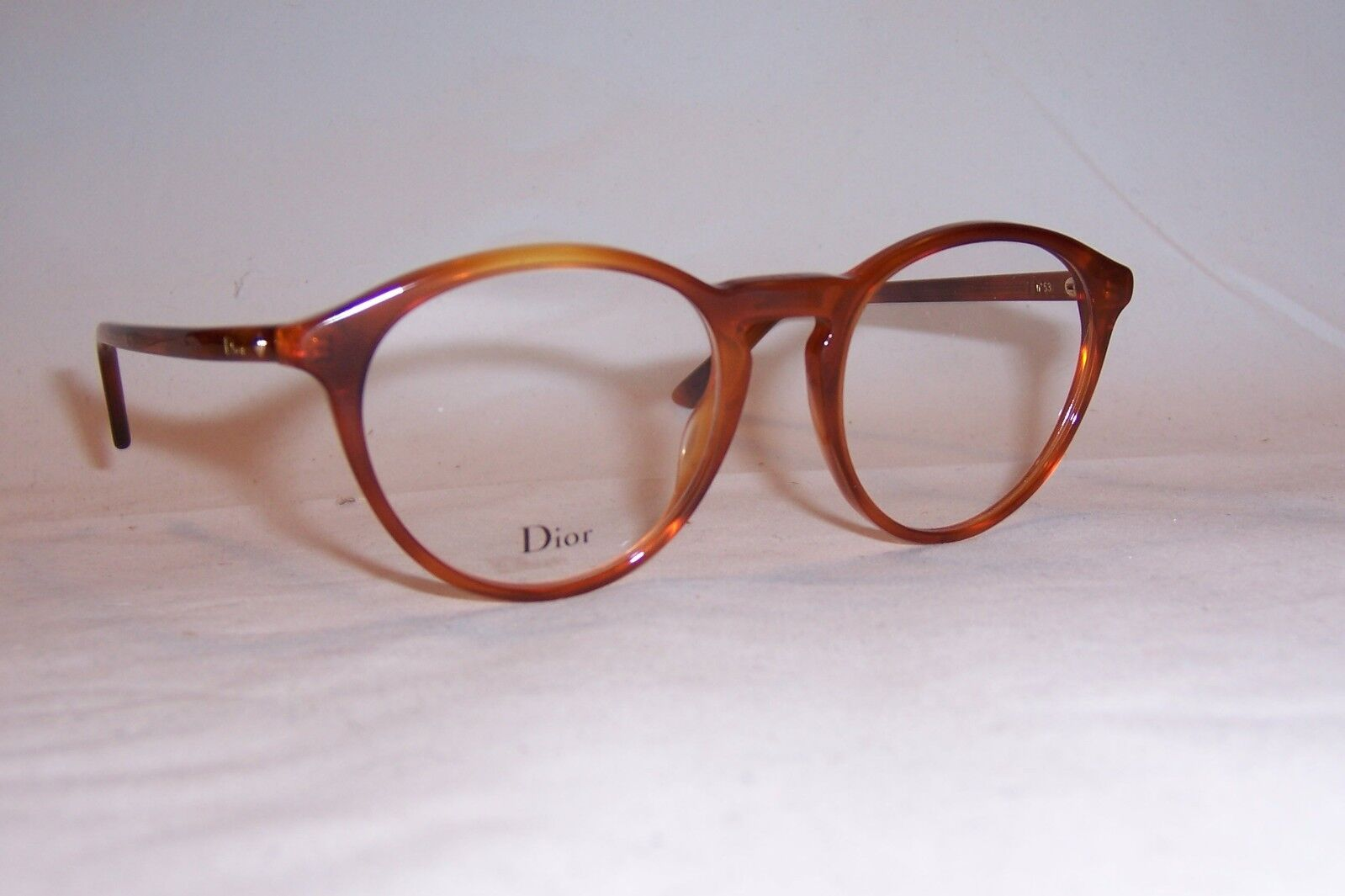 559bcf8350 Christian Dior Eyeglasses CD Montaigne 53 Sx7 Havana 50mm RX ...