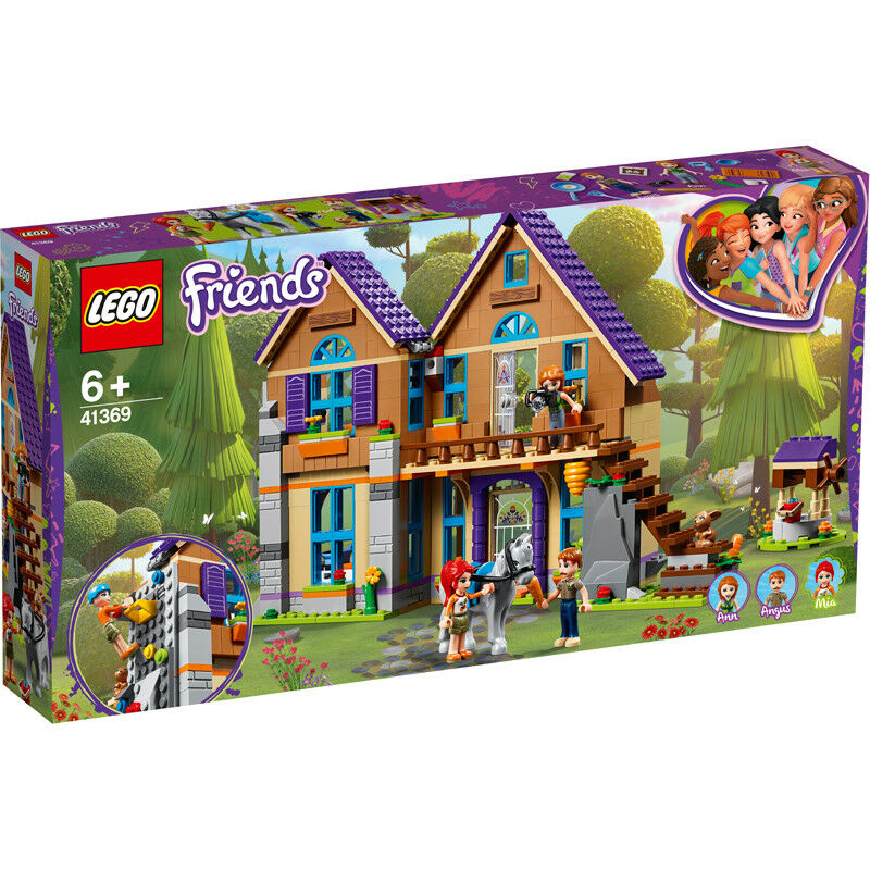 Lego Friends Mia's House Building Set - 41369 - NEW