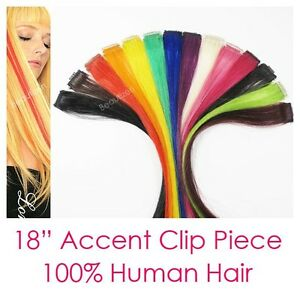 Lord-amp-Cliff-100-Human-Hair-18-034-Highlight-Clip-Extention-Pick-Color