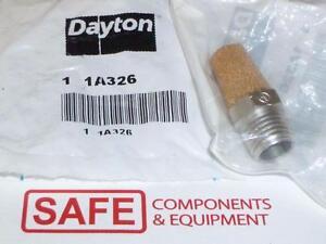 SPEEDAIR DAYTON 1A326 Pneumatic Exhaust Muffler QTY-1 MM-100