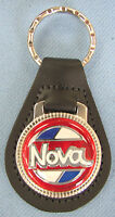 Vintage Red Chevrolet Nova Black Leather Usa Keyring Chevy 1977 1978 1979 1980