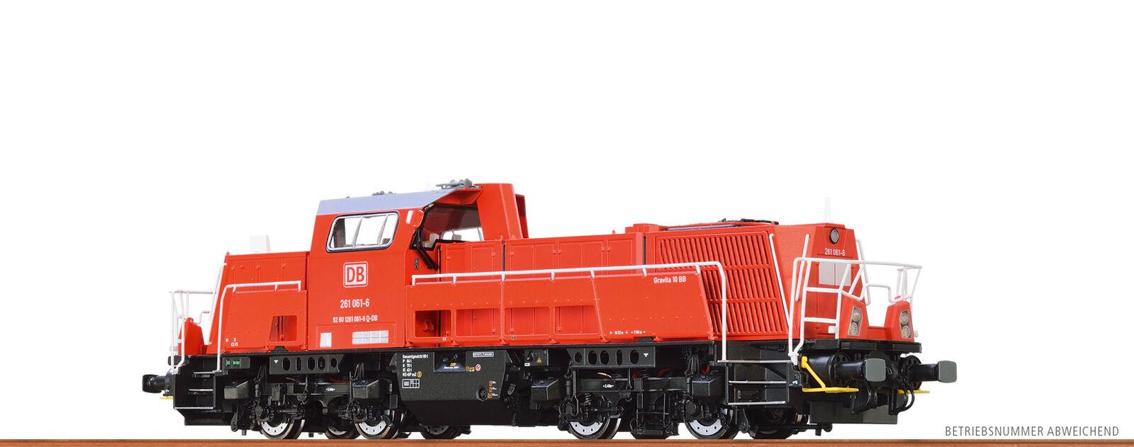 Brawa 41802 H0 diesel loco 261 DB AG, VI, CC cavar EXTRA sonido