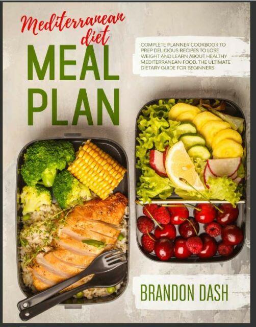 Mediterranean Diet Meal Plan Complete Planner Cookbook To