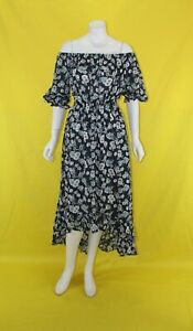 BNWT-ZALORA-FLORAL-OFF-SHOULDER-MAXI-DRESS