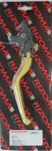 Rizoma-LB200G-Adjustable-Folding-Brake-Lever-for-Yamaha-FZ1-FZ6-FZ6R-Gold