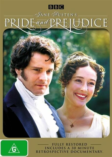 PRIDE and PREJUDICE Complete BBC Series Remastered DVD R4 Colin Firth