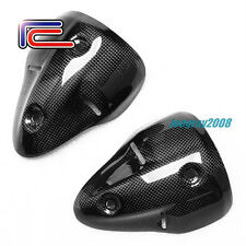 RC Carbon Fiber Exhaust Covers Heat Shields DUCATI Monster 1100 S 696 2008 2009