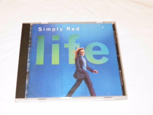 Life by Simply Red CD music so beautiful Hillside avenue You make me believe