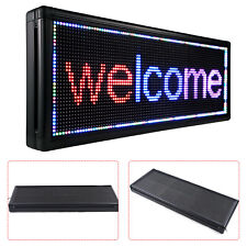 40 X15 Led Sign 3 Color Outdoor Programmable Led Scrolling Message Board Sign