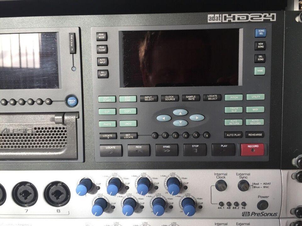 Recordingsystem komplet 24-kanals som nyt.