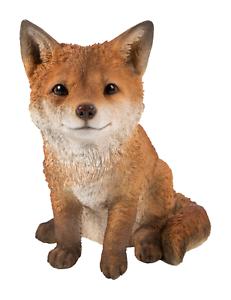 Vivid Arts Standing Fox Cub Resin Ornament