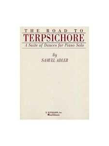 Samuel Adler The Road To Terpsichore Learn To Play Piano Music Book Pieces Set Instruction Books, Cds & Video