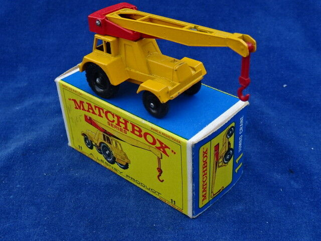 TOP +++ MATCHBOX LESNEY - JUMBO CRANE 11