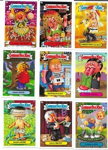 2004 UK Garbage Pail Kids ALL NEW SERIES Complete Card Set MINT CONDITION
