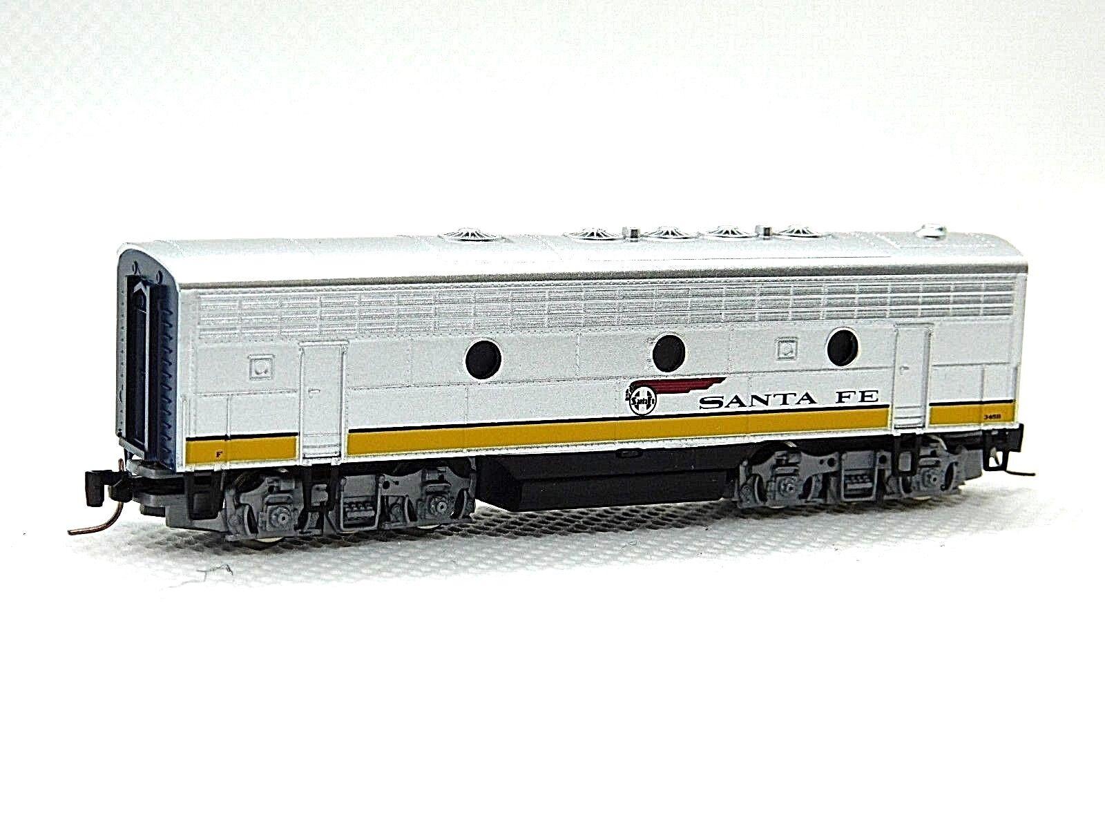MTL Z 980 02 280 F7 ATSF Powerot B-Unit Locomotive (YLW)  345B (Tested)