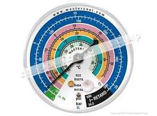 Manometer gauge Mastercool EL, 63mm, R410A R404A R22 R507A