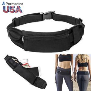 ed755159b88d Details about Waterproof Waist Belt Zip Pouch Pack Pocket Bag Outdoor Sport  Gym Running iPhone