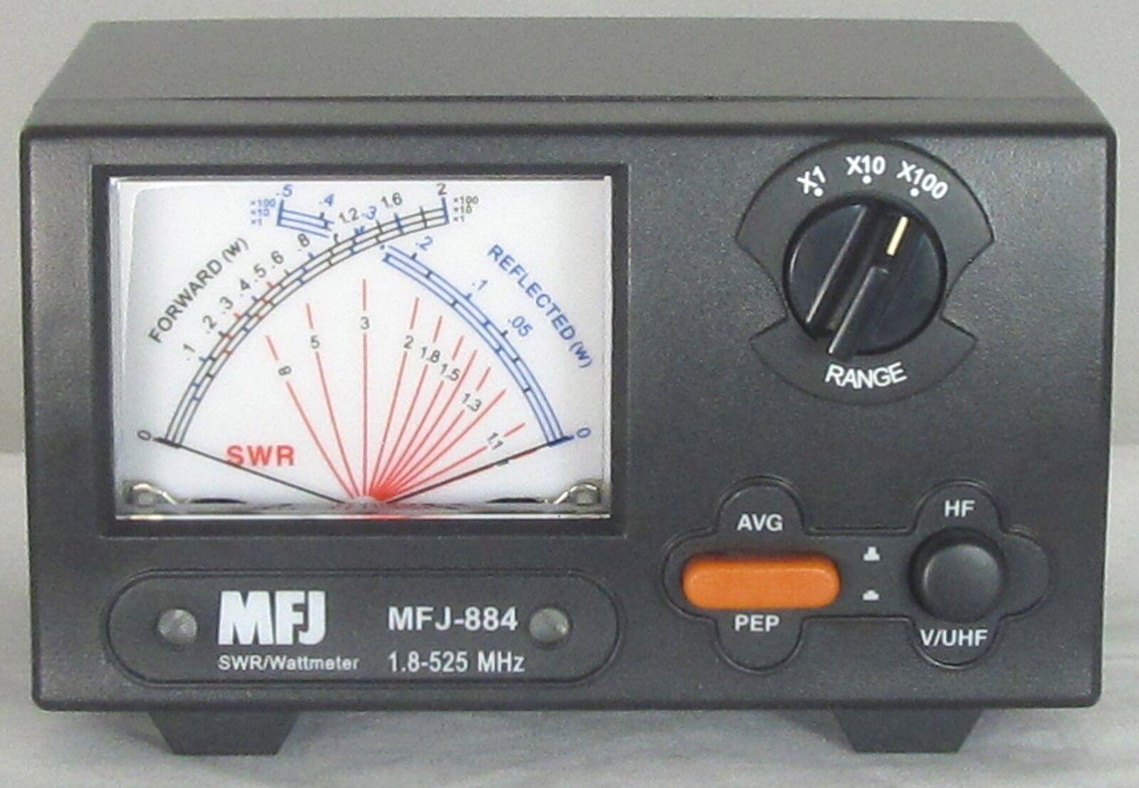 MFJ-884 1.8-525 MHz - 200 W - X SWR/Wattmeter. Available Now for 144.95
