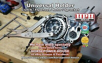 UNIVERSAL CLUTCH HUB HOLDER SERVICE TOOL HONDA MOTORCYCLE ATV SCOOTER DIRTBIKE