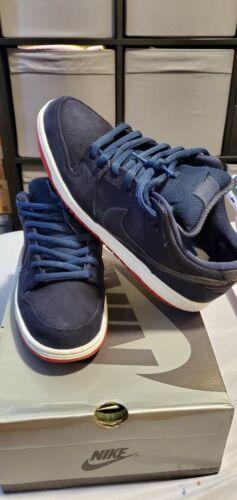 Nike Sb Low Levis Navy Blue sz 11
