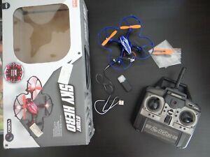 Drone Quadricoptère Stunt Sky Hero Avec Gyroscope Et Caméra Hd Riche Et Magnifique