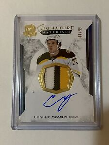 2017-2018-The-Cup-Signature-Materials-Charlie-McAvoy-47-99