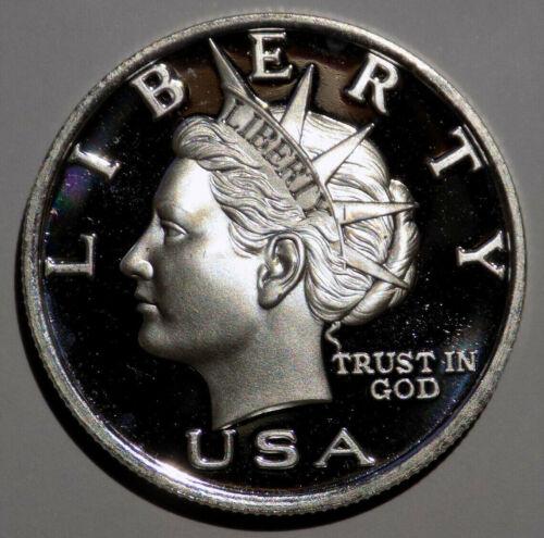 2005 NORFED 10 Liberty 1//2 oz Silver Bernard von NotHaus