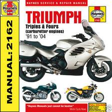 TRIUMPH THUNDERBIRD 1200 1000 750 900 Legend TT 91-04 manuale haynes 2162 NUOVO