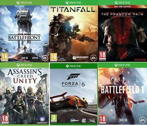 Xbox-One-Videospiel-kaufen-1-oder-Bundle-Up-Forza-Star-Wars-Metal-Gear-Solid