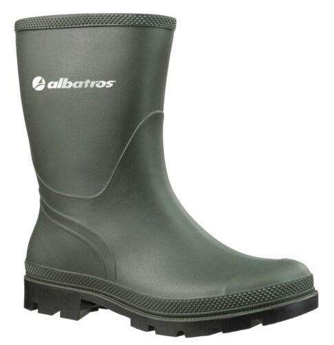 Albatros PVC-Stiefel THE RANCHER OB rutschfester profilierter PVC-Laufsohle grün