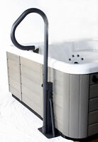 Cover Valet Spa Side LED Handrail with Base