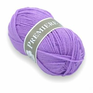 Lot 10 pelotes laine acrylique layette Gravier 29  Première