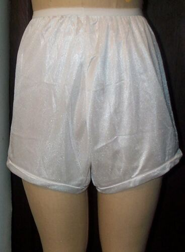 3 Pair Size 6 BLACK Flare Leg Nylon Tricot Panty  Like a Men/'s Boxer CLOSE OUT