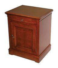 LAUDERDALE 500 Cigar End Table Cabinet Humidor   Maple Veneer #348