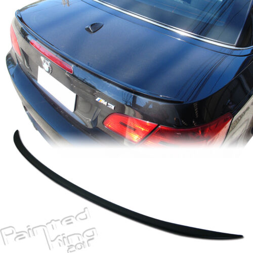 For BMW 3 series E93 Convertible Cabrio Trunk spoiler 08-13 painted 328i 335i