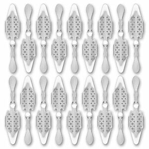 18x-Absinth-Loffel-Losanges-41-Absinthe-Spoon-Cuillere-a-Absinthe-originale