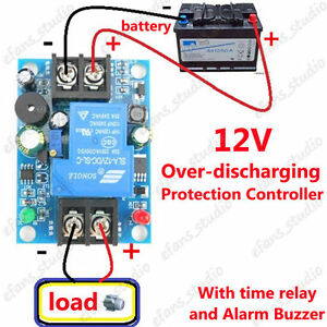 image is loading 12v battery low voltage cut off switch controller