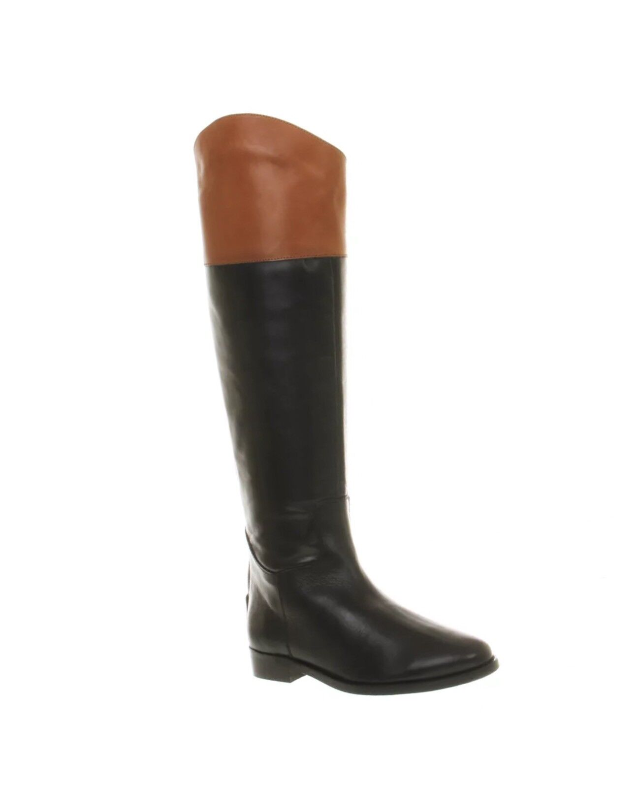 Office UK Black Leather Boots UK Office Size 3 b7efb8