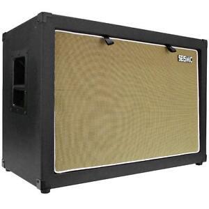 Seismic Audio 2x12 GUITAR SPEAKER CAB EMPTY 212 Cabinet NEW 12 Tolex