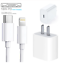 For-iPhone-11-11Pro-Max-XS-iPad-18W-USB-C-to-Lightning-Cable-Fast-Charger-Cord miniature 2