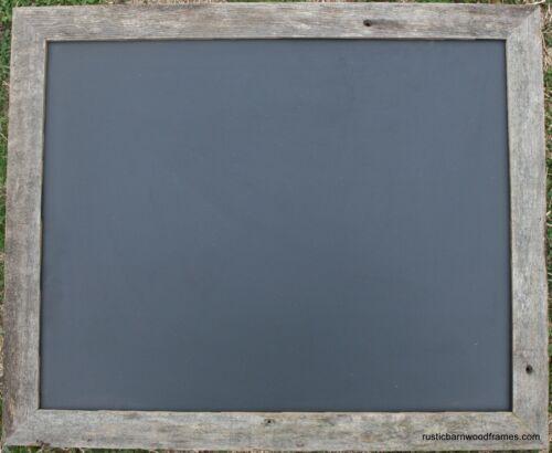 16x20 Rustic Reclaimed Barn Wood Weathered Barnwood Chalkboard Black Board