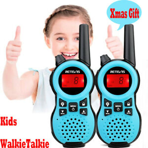 Caroger Ricetrasmittente 8 Canali 2 x Walkie Talkies PMR446MHZ per Bambini 2 Way Radio Interphone PortatileFino a 3300 Metri / 2 Miglia, Rosa