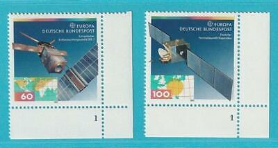 Bund Aus 1991 Formnummer 1 ** Postfrisch Minr. 1526-1527 Europa Weich Und Leicht